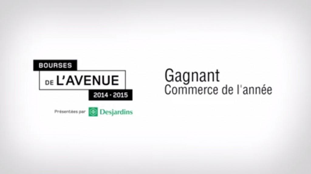 Bourses Desjardins de l'Avenue 2014-2015